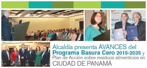 ALCALDÍA PRESENTA AVANCES DEL PROGRAMA BASURA CERO 2015-2035 y PLAN DE ACCIÓN SOBRE RESIDUOS ALIMENTICIOS