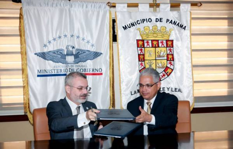 Se Firman Acuerdo Con El Mingob En Tema Ambiental, Capacitaciones Y Resocialización