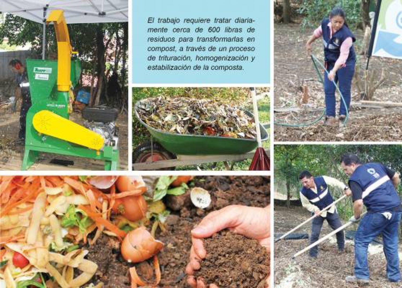 Proyecto de manejo de residuos orgánicos en Betania