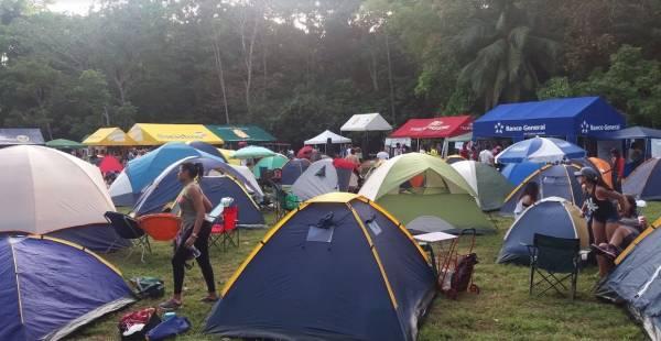 Basura Cero apoya Feria Yo Me reciclo, versión acampando.