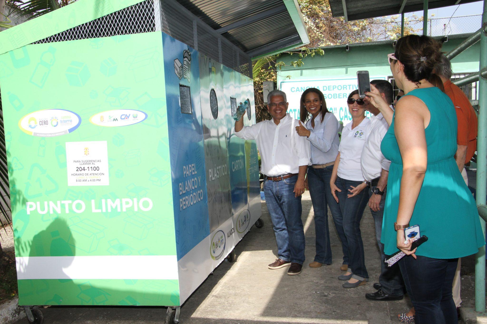 Alianza que busca reducir los niveles de basura en la ciudad se fortalece en Betania