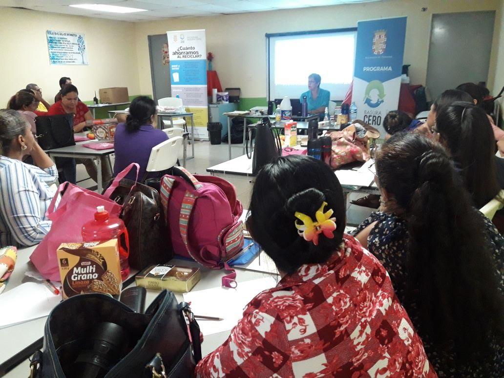 Escuelas Basura Cero en los corregimientos pilotos del Distrito de Panamá