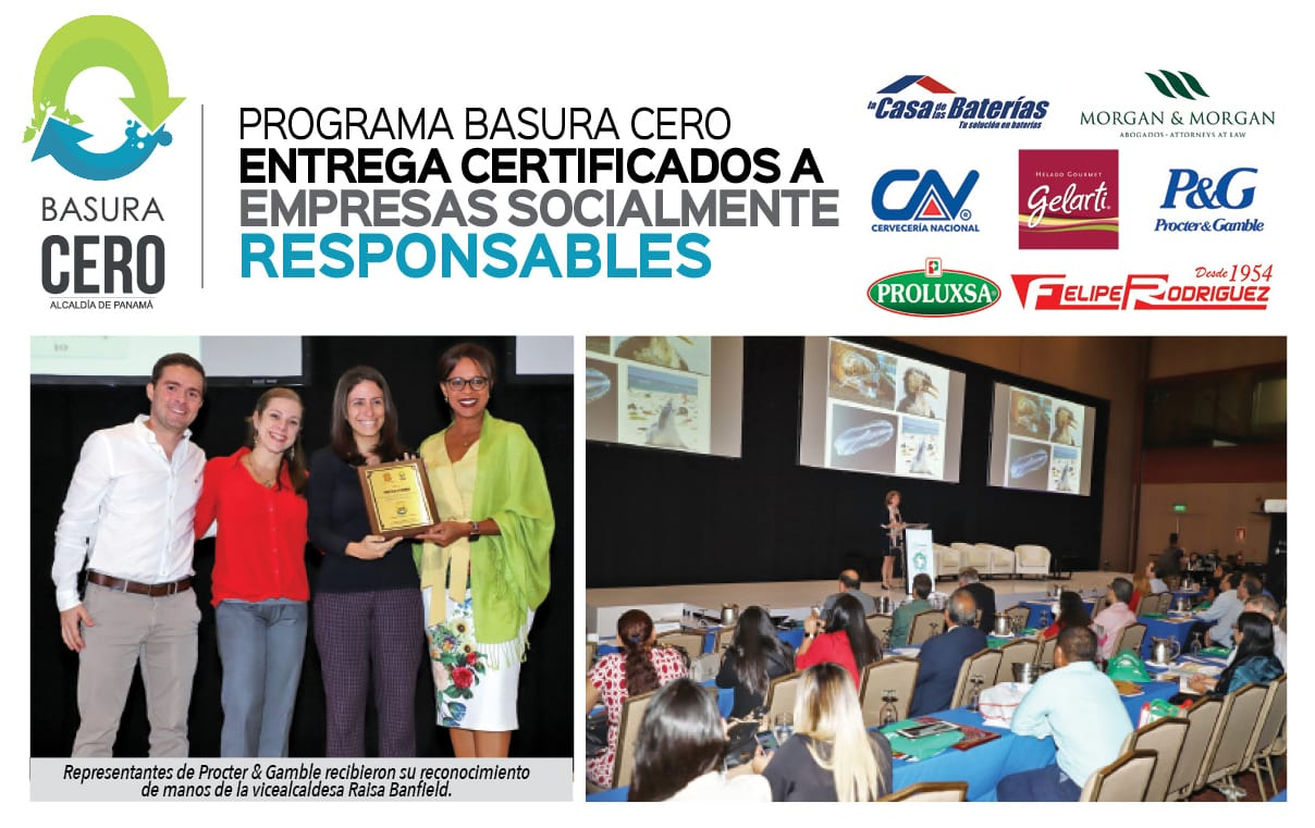 Empresas socialmente responsables reciben Certificación Basura Cero