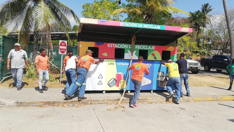 Estación para reciclaje #26